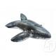 guidabile gonfiabile grigio balena 201x135cm