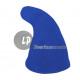 blue felt elf hat