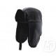 protezione del cappello di pelliccia nero