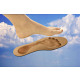 Universal insoles with memory effect