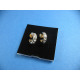 Earrings with 4 Zirconia