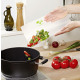 4 pieces flexible cutting boards and cut resistant