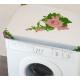 Washing machine cover 60x60cm rose motive
