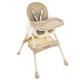 KRUZZEL feeding chair - beige