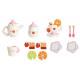 Children' s tea set Wooden accessories for the