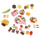 Wooden Box + Sweets Velcro for chopping 9355