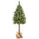 Künstlicher Weihnachtsbaum 180cm Schnee Christbaum