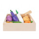 Kitchen toys fruit vegetables cutting food set kni