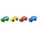 Wooden Cars Transporter Toy Carrier Truck With 1 T