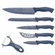 Herzog HR-SY5: Set of stainless steel knives