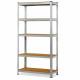 Herzberg HG-8027: Galvanized Storage Shelf