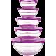 Herzberg HG-5007: Glasschalen-Set 10-tlg
