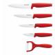 Royalty Line RL-C4; Set of ceramic knives