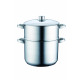 Royalty Line RL-C12L; 12L Stainless Steel Couscouc