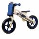 Kinderline WBC726.1: Wooden Balance Bike Blue