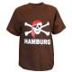 "T-Shirt ""Pirate"" Hamburg bawełna"