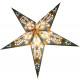 Poinsettia 60cm paper star Christmas decoration