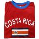 "Koszula kibica ""Kostaryka"" Unisex Soccer World Cup"