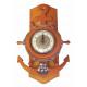 Zegar żeglarski wybrzeże Steurrad zegar statek zeg