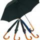 Umbrella 90x97cm houten vloer effen kleuren