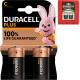 Batterij Duracell Plus baby 2er MN1400
