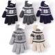 Hiver Gant tricoté Norwegian Design