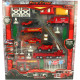 Playset 26tlg firefighters 2fach sort in Box