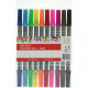 Markers pack of 10 thick + thin, 16cm