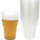 Party bekers voor bier 10 0.4L in een polybag