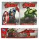Pañuelos Avengers pieza 10x7 de 4 capas