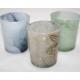 Teelichtglas in trendy Marble Ontwerp