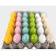 Pasen Kaars 60g, 6 lichte glanzende kleur