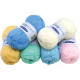 Sorted wool 50g pastel colors 5x