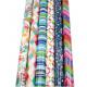 Gift paper roll 2m, modern motifs