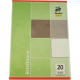 Block DIN A4 50 sheets woodfree blanco