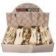 Cucchiaio di legno e pennello torta ordinati 6x