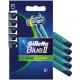 Gillette Bleu II Plus rasoir 5 Slalom Series