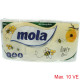 Mola toiletpapier 3-laags 8x150 vel Decor