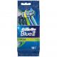 Gillette Blue II Plus Slalom 10