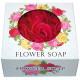 Flower Rose Zeep 9,5x4,5cm, 9 rozen,