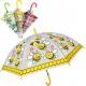 Regenschirm mit Pfeife 96cm Kinder Automatik