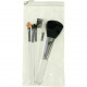 Cosmetic Brush Set 6-piece 12-15cm in Beautybag