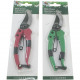 Secateurs self-opening on card 19cm