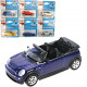 Car metal 1:60, 7x3x2,5cm 24 models assorted