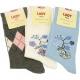 Socken Damen 1 Paar Baumwolle 35/38 39/42 sortiert