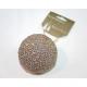 LUXURY piłka złoto 8cm zajęte z przyczepą