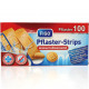 Wound dressing strips 100er water resistant 4 size
