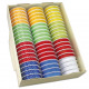 Gift ribbon on roll 2m with dots