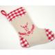Santamariefel of linen fabric XL 28x20cm