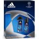 Adidas GP Dusch 250ml + Deo 150ml Ligue des Champi